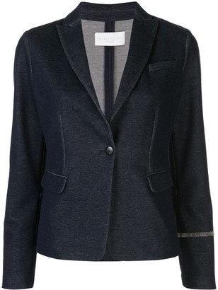 Fabiana Filippi Tailored Embellished Blazer