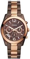 Fossil Women's 'Perfect Boyfriend' Quartz Stainless Steel Casual Watch