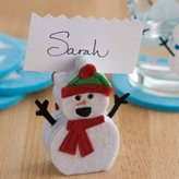 Design Ideas Chilly Chaps Placecard Holder/Memo Clip