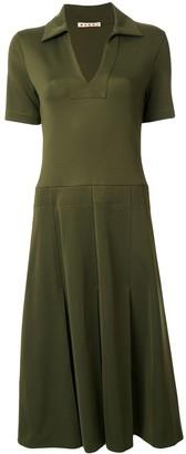 Marni Flared Midi Dress