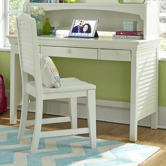 STUDY Crawfordville Kids Desk Harriet Bee Color: Bright White