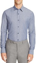 Hardy Amies Slim Fit Button Down Shirt