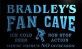AdvPro Name td128-b Bradley's Basketball Fan Cave Man Room Bar Beer Neon Light Sign