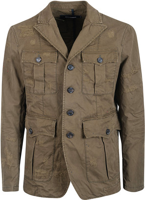 DSQUARED2 Button Up Jacket