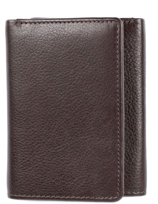 Hanson Karla RFID-Blocking Trifold Leather Wallet