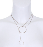 AX Paris Silver Multiway Hoop Necklace