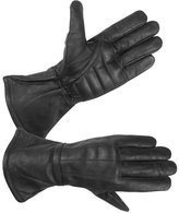 Hugger Glove Company Men's Unlined Extra Long Water Resistant Leather Gauntlet Glove