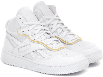 Reebok x Victoria Beckham Dual Court II leather sneakers