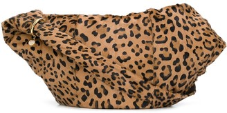 Simonetta Ravizza Furrissima leopard-print shoulder bag
