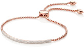 Monica Vinader Stellar Diamond Mini Bar Bracelet