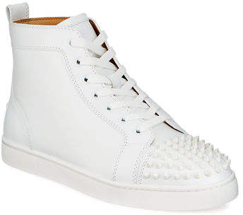 Men S Lou Spikes High Top Sneakers