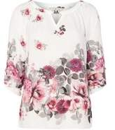 Dorothy Perkins Womens **Billie & Blossom Tall Ivory Floral Blouse