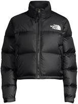 The North Face 1996 Nuptse Cropped Puffer Jacket