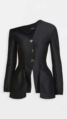 A.W.A.K.E. Mode Off Shoulder Button Jacket