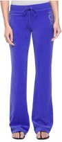 Juicy Couture Logo Velour Marrakech Cameo Bootcut Pant