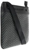 Versace Ee1yobb54 Emaq Black/grey Mens Messenger Bag.