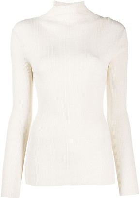 Totême Long-Sleeve Turtleneck Jumper