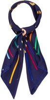 Hermes A Vos Crayons! Silk Scarf