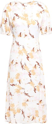 By Ti Mo Bytimo Floral-jacquard Midi Dress