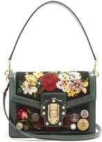 Dolce & Gabbana Dolce Soft embellished tartan box bag