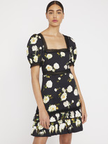 Alice + Olivia WYLIE FLORAL MINI DRESS