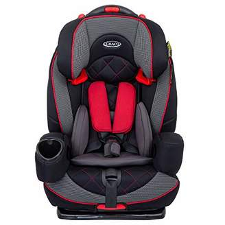 Graco Nautilus Elite Saturn Harnessed Booster Car Seat, Group 1/2/3, Red/Black