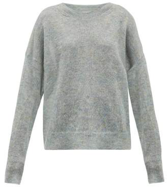 Etoile Isabel Marant Cliftony Mohair-blend Sweater - Womens - Grey
