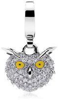 Theo Fennell Snowy Owl Charm