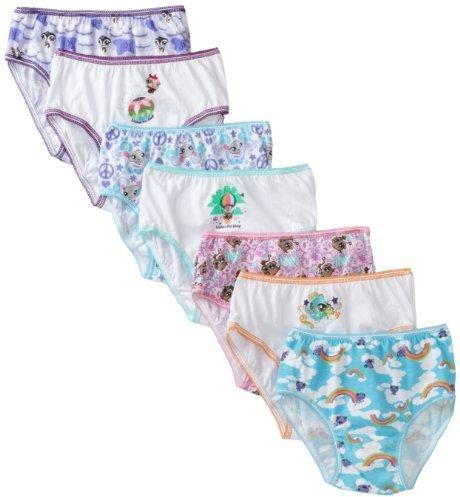 Littlest Pet Shop Handcraft Little Girls' Underwear Set (Pack of 7)