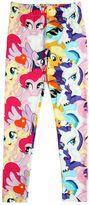 Au Jour Le Jour Little Pony Print Cotton Jersey Leggings
