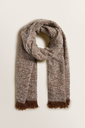 Seed Heritage Boucle Knit Wrap