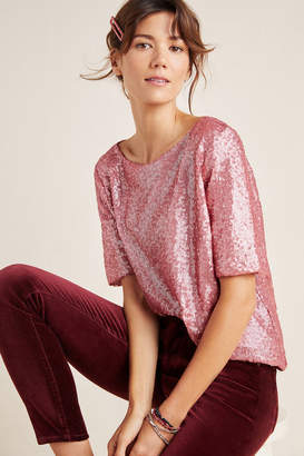 Sunday In Brooklyn Sallie Sequined Blouse