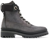 Tommy Hilfiger stitched panel boots