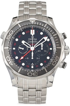Omega 2020 unworn Seamaster Diver 300M Co-Axial GMT Chronograph 44mm