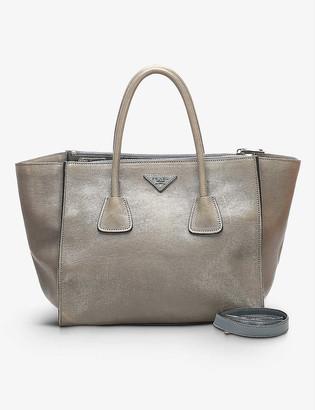 Resellfridges Pre-loved Prada Twin Pocket leather top-handle bag