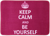 JCPenney Mohawk Home Keep Calm and Be Yourself Bath Rug