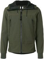 C.P. Company zip pocket hooded jacket
