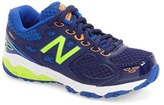 New Balance Toddler Boy's '680' Leather Athletic Sneaker