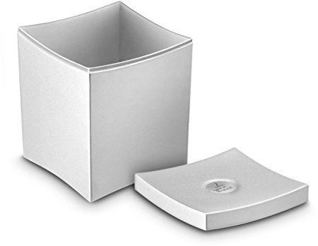 CEP Polystyrene Small Waste and Tea Bag Collector, Metal Grey