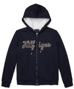 Tommy Hilfiger Adaptive Women's Hoodie with Magnetic Zipper