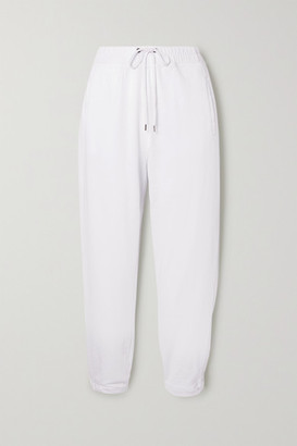 James Perse Cotton-jersey Track Pants - White