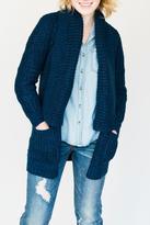 Dex Royal Knit Cardigan