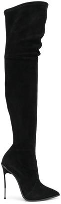 Casadei Stiletto Thigh-High Boots