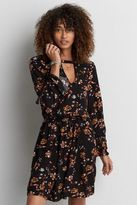 American Eagle Outfitters AE Bell Sleeve Fit & Flare Dress