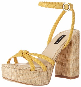 Nine West Women's WNRYLIN Heeled Sandal