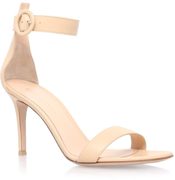 Gianvito Rossi Leather Louis Sandals 100
