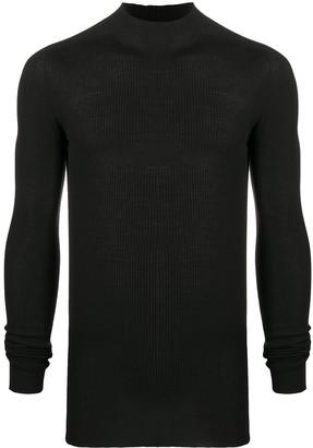Rick Owens Performa ribbed knit jumper