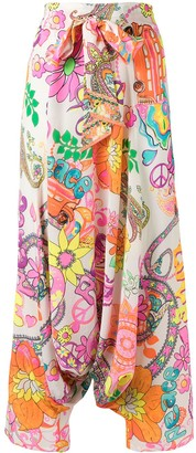 Camilla Let the Sun Shine wide-leg trousers