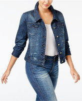 Standards and Practices Trendy Plus Size Denim Jacket