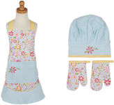 DESIGN IMPORTS Design Imports Flower Party Kids Apron and Chef Gift Set